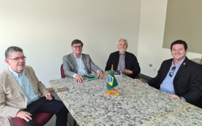 Executive Secretary meets with the Grand Masters of Paraguay, Mato Grosso and Mato Grosso do Sul
